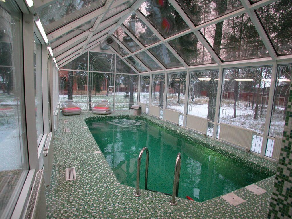 """image for круглогодичный бассейн """"Хрустальный Сорренто"""" c системой проточной вентиляции."""